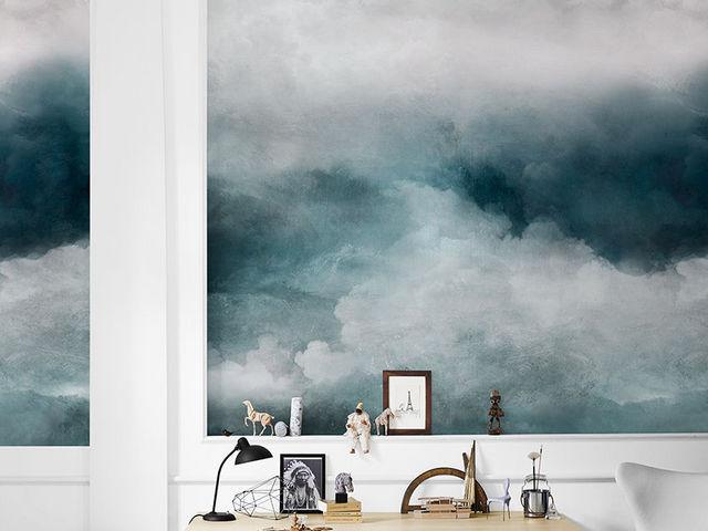 INKIOSTRO BIANCO - Papier peint panoramique-INKIOSTRO BIANCO-Tempesta