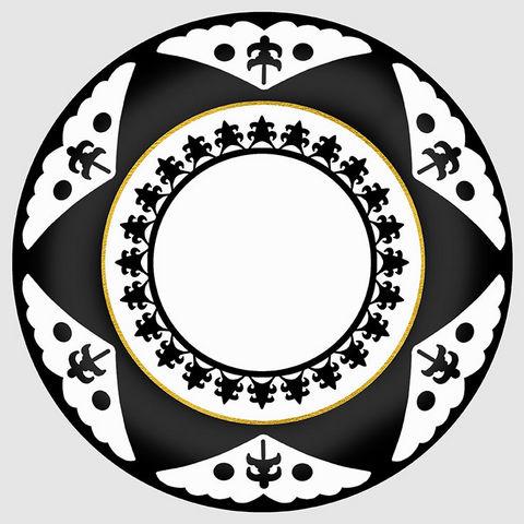 Design Atelier - Assiette décorative-Design Atelier-Black Star