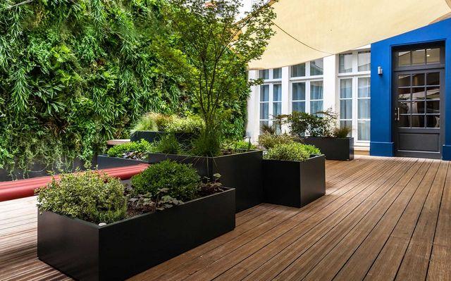 ATELIER SO GREEN - Jardinière-ATELIER SO GREEN-Bacs Image'In sur mesure en fibre-ciment