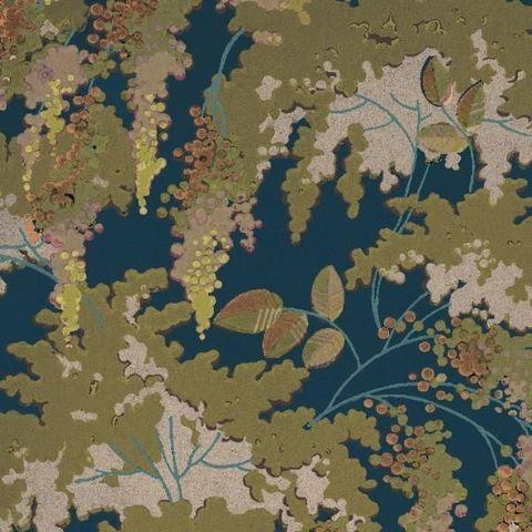ISIDORE LEROY - Papier peint-ISIDORE LEROY- Frondaisons