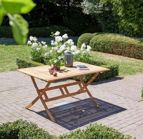 BOIS DESSUS BOIS DESSOUS - Table de jardin pliante-BOIS DESSUS BOIS DESSOUS