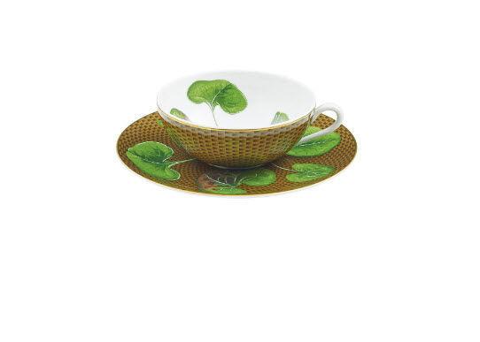 Raynaud - Tasse à thé-Raynaud-Trésor Fleuri