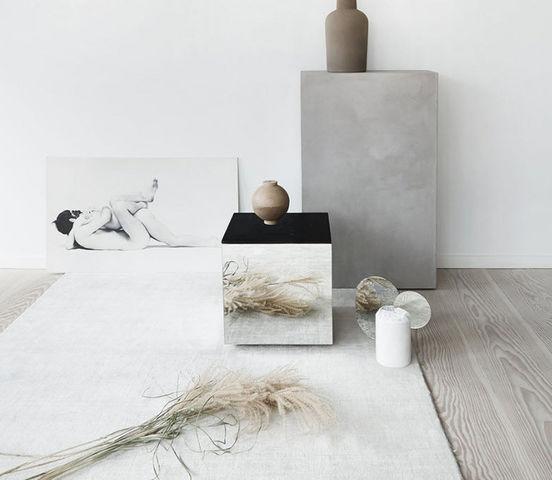 KRISTINA DAM STUDIO - Table basse carrée-KRISTINA DAM STUDIO-Miroir