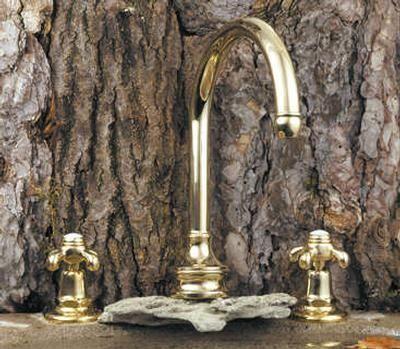 Volevatch - Mélangeur bain 3 trous-Volevatch-Bec bain fixe