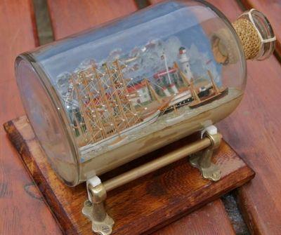 La Timonerie Antiquités marine - Diorama-La Timonerie Antiquités marine