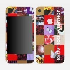 JOHANNA L COLLAGES - Coque de téléphone portable-JOHANNA L COLLAGES-Skins IPhone 4