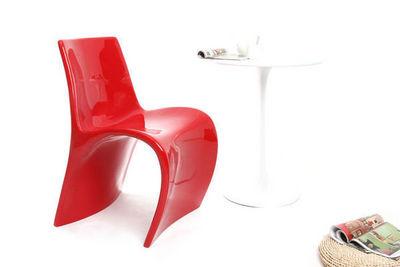 Miliboo - Chaise-Miliboo-Chaise design en fibre de verre OWIE
