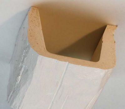 Nevadeco - Fausse poutre-Nevadeco-T 17 blanche en 3.95m