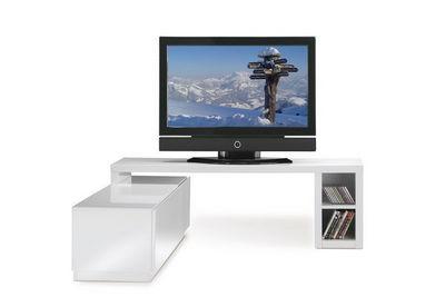 Miliboo - Meuble tv hi fi-Miliboo-TROYE TV NOIR