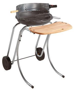 INVICTA - Barbecue au charbon-INVICTA-Machine à grillade Douvres en Fonte fait en metal