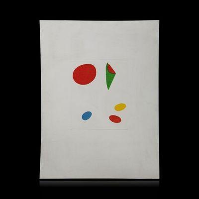 Expertissim - Lithographie-Expertissim-Joan MIRO. Le Vent parmi les roseaux, illustration