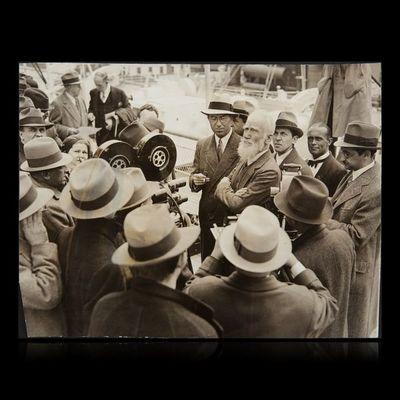 Expertissim - Photographie-Expertissim-SHAW George Bernard (1856-1950). Photographie de p