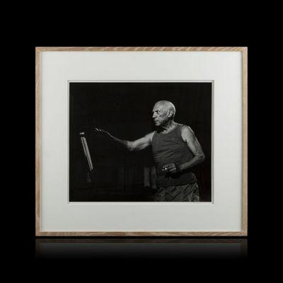 Expertissim - Photographie-Expertissim-André VILLERS. Pablo Picasso dans Le mystère Picas