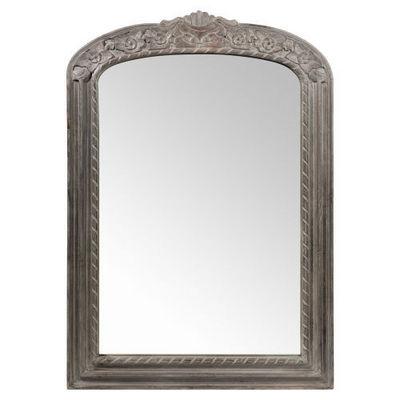 Maisons du monde - Miroir-Maisons du monde-Miroir Sévigné gris