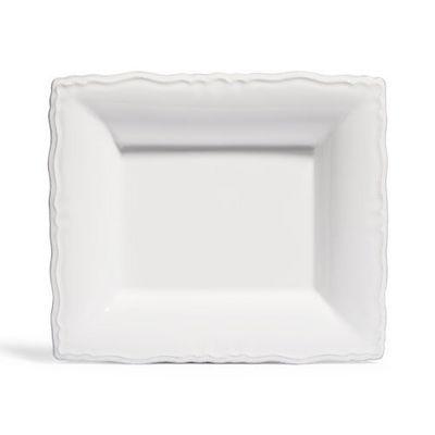Maisons du monde - Assiette creuse-Maisons du monde-Assiette à soupe Marquise blanche