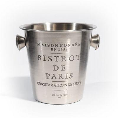 Maisons du monde - Seau à champagne-Maisons du monde-Seau à champagne Bistrot Paris