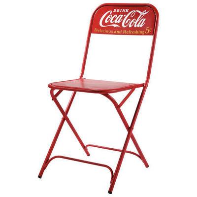 MAISONS DU MONDE - Chaise-MAISONS DU MONDE-Chaise Coca-Cola