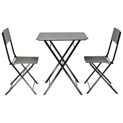 Maisons du monde - Chaise-Maisons du monde-Set Table + 2 Chaises Haussmann