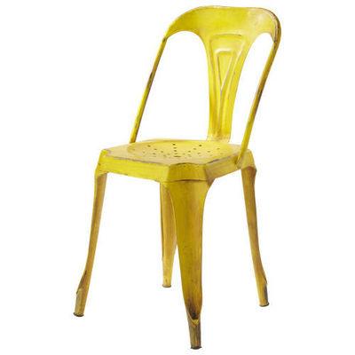 Maisons du monde - Chaise de jardin-Maisons du monde-Chaise jaune Multipl's