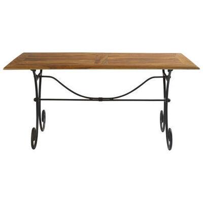 Maisons du monde - Table de repas rectangulaire-Maisons du monde-Table à dîner  160 cm Lubéron