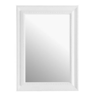 Maisons du monde - Miroir-Maisons du monde-Miroir L�onore blanc 82x113