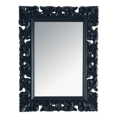 Maisons du monde - Miroir-Maisons du monde-Miroir Rivoli noir 90x120