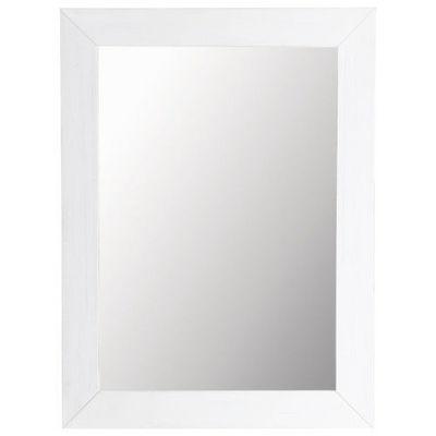 Maisons du monde - Miroir-Maisons du monde-Miroir Natura blanc 90x120