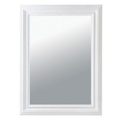 Maisons du monde - Miroir-Maisons du monde-Miroir Napoli blanc 60x80