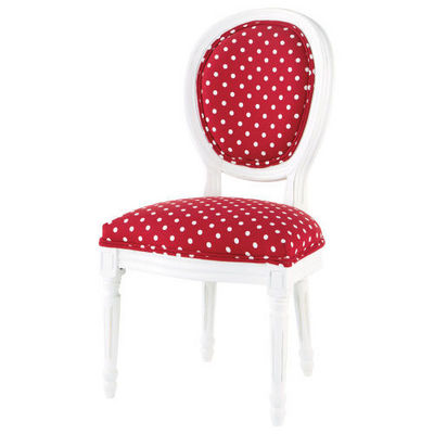 Maisons du monde - Chaise médaillon-Maisons du monde-Chaise enfant Louis Cerise