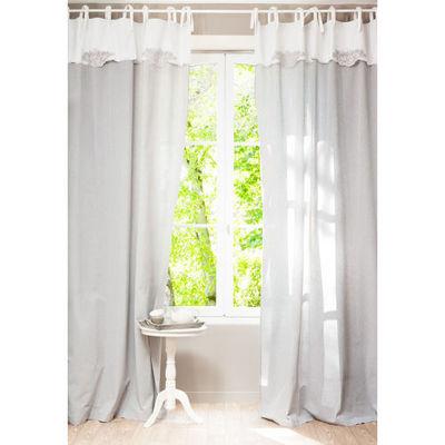 rideaux maison du monde interesting cheap dco rideaux pour salon beige bordeaux monde soufflant. Black Bedroom Furniture Sets. Home Design Ideas