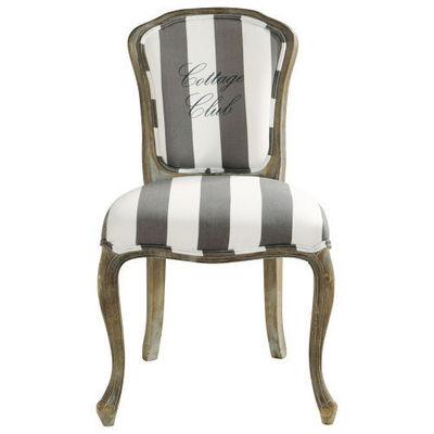 chaise bistrot maison du monde elegant simple affordable chaise de bureau en tissu coloris brun. Black Bedroom Furniture Sets. Home Design Ideas