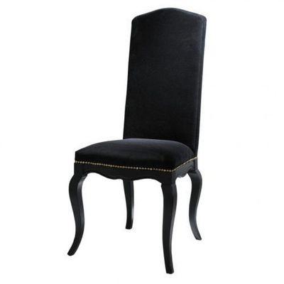 Maisons du monde - Chaise-Maisons du monde-Chaise noire Barocco