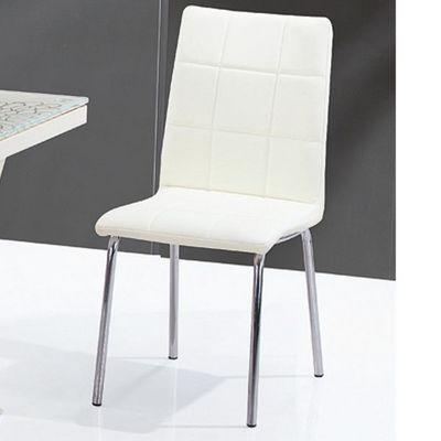 CLEAR SEAT - Chaise-CLEAR SEAT-Chaises Crème Calice lot de 6