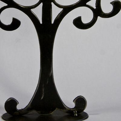 YAN HUBLOT - Porte-bijoux-YAN HUBLOT-Arbre à bijou en métal Symétrique