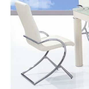 CLEAR SEAT - Chaise-CLEAR SEAT-Chaises Boreal Blanc lot de 6