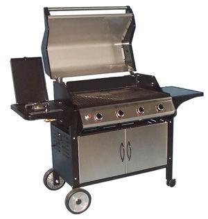 INVICTA - Barbecue au charbon-INVICTA-Barbecue gaz  middelton