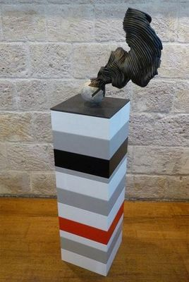 DEZIN-IN - Sculpture-DEZIN-IN-L'ENERGIE DU CHELOÏDE ALCHIMIQUE LUNAIRE 03