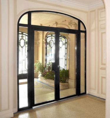 Picard Serrures - Porte de hall d'entrée d'immeuble-Picard Serrures-Rhéa