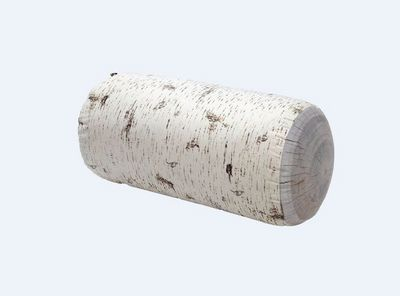 MEROWINGS - Coussin de sol-MEROWINGS-Birch Tree Trunk