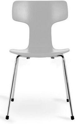 Arne Jacobsen - Chaise-Arne Jacobsen-Chaise 3103 Arne Jacobsen grise Lot de 4