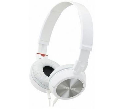 SONY - Casque-SONY-Casque MDR-ZX300 - blanc