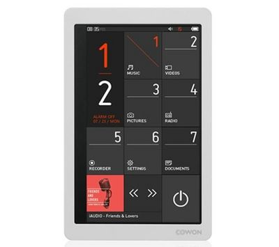 COWON - MP3-COWON-X9 - 32 Go - blanc - Lecteur MP4