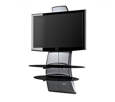 Meliconi - Meuble tv hi fi-Meliconi-Meuble TV Ghost Design 2000 silver
