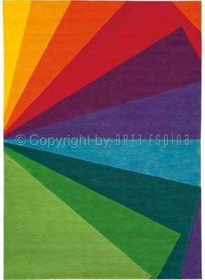 Arte Espina - Tapis contemporain-Arte Espina-Tapis Design Rainbow Festival