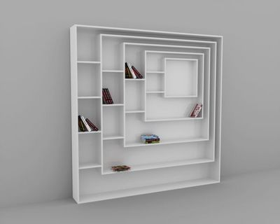 MALHERBE EDITION - Biblioth�que modulable-MALHERBE EDITION-Biblioth�que Carr�e