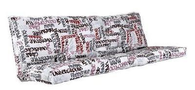 Futon Design - Matelas banquette BZ-Futon Design-Matelas-futon GRAFITI 135 x 190 cm dos enveloppant