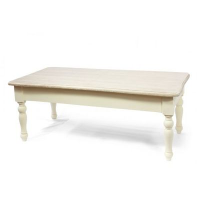 WHITE LABEL - Table basse rectangulaire-WHITE LABEL-Table basse rectangulaire Emma