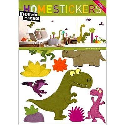 Nouvelles Images - Gommettes-Nouvelles Images-Sticker mural dinosaure