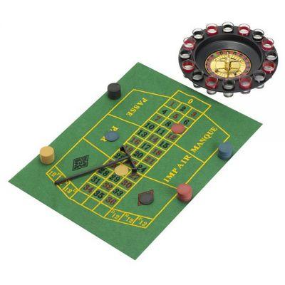 La Chaise Longue - Coffret de jeux-La Chaise Longue-Jeu de roulette 'Drinking game'