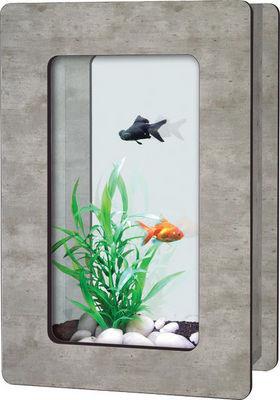ZOLUX - Aquarium-ZOLUX-Aquarium Aqua Vision H imitation béton ciré 6 litr